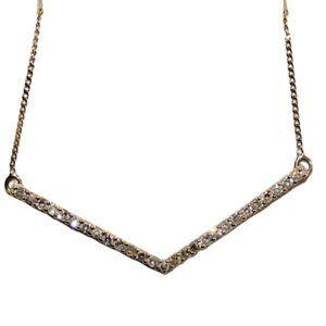 10k gold Diamond Necklace Ben Moss